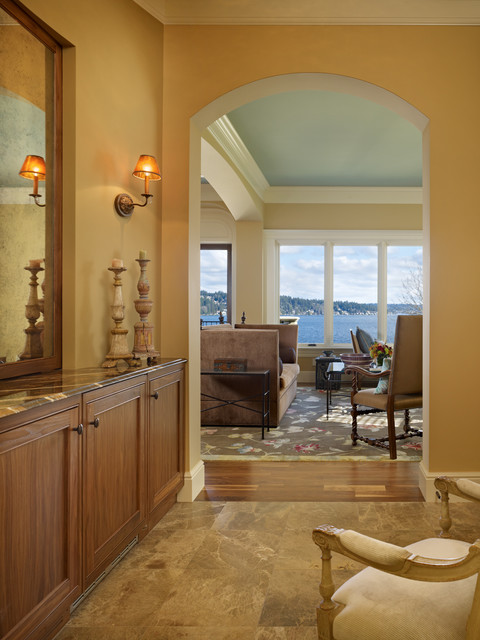 Lakeside Lookout Entry/Hallway mediterranean-entry