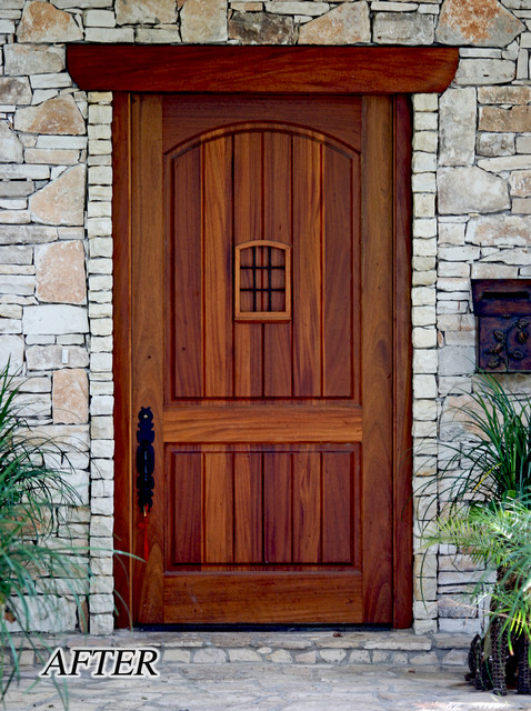 Large 48 x 96 front entry door traditional entry for Exterior entry doors
