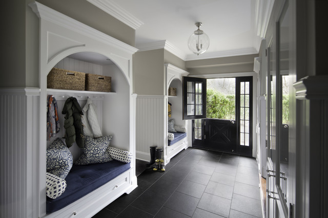 Large But Sleek Mud Room