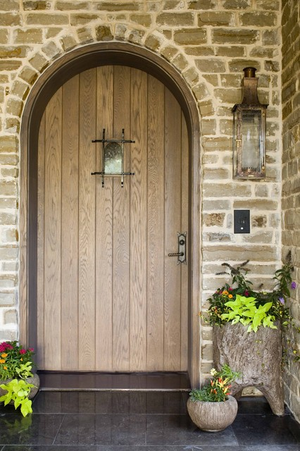 Larry E. Boerder Architects traditional-entry