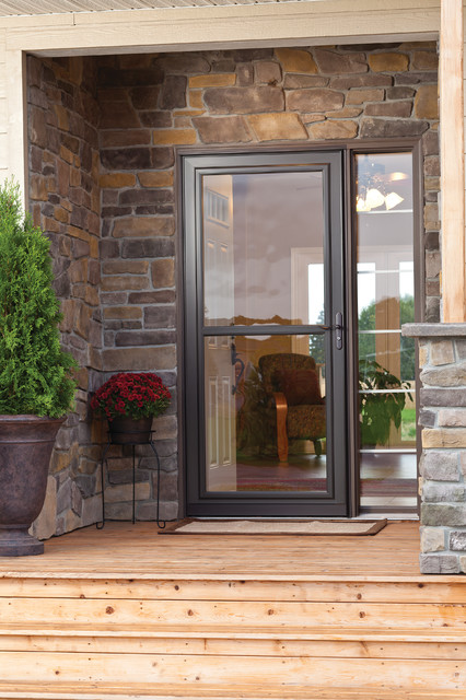 Larson Screen Away Front Door - Transitional - Entry - other metro - by Larson Storm Doors