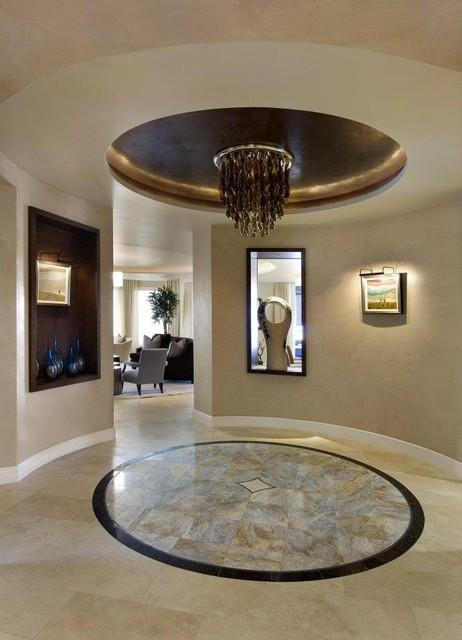 LaScala Condominium Remodel contemporary-entry