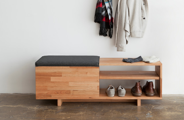 LAXseries Storage Bench - Modern - Entry - Los Angeles - by MASHstudios
