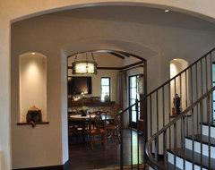 LEED Platinum Rated Bryant Street Residence mediterranean-entry