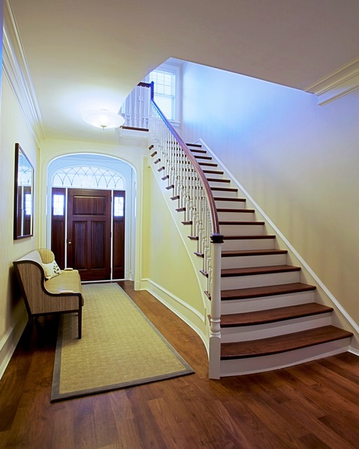 Foyer Staircase Questions : Lg construction development foyer and staircase