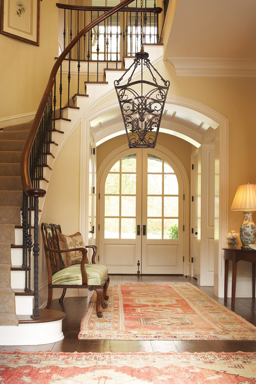 Foyer Lighting Canada : Beautiful foyer paint color on wall please and rug info
