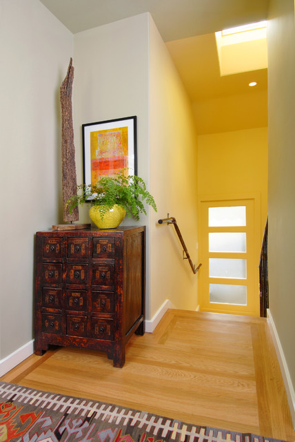 Light Filled Entry contemporary-entry