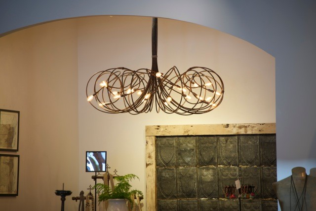 Lightsculptures dark patina chandelier rustic entry los lightsculptures dark patina chandelier rustic entry aloadofball
