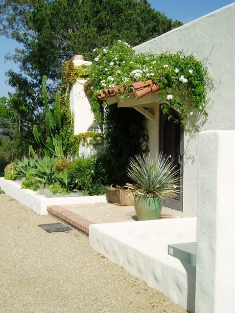 Lilian Rice, Estate landscape, Rancho Santa Fe, courtyard ...