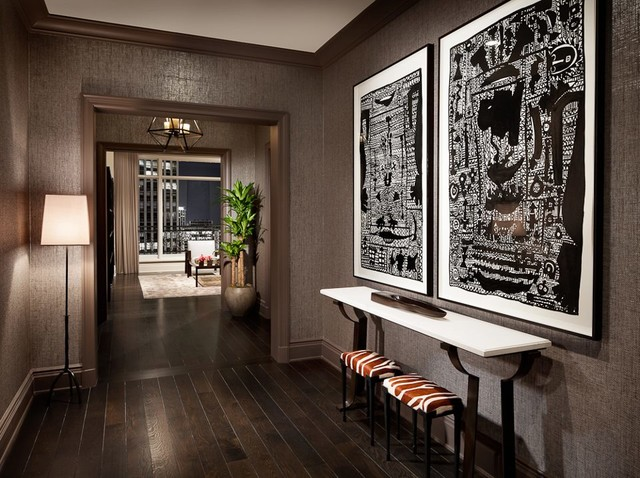 Lincoln Park Luxury High Rise Model Apartments Designed By Holly Fascinating Luxury Living Room Design Model