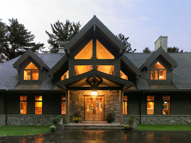 Lindal classic designs traditional entry seattle for Lindal cedar home plans