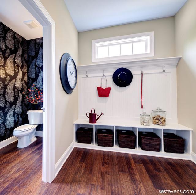 Lindsay model Mud room traditional-entry