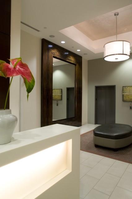 Lobby contemporary-entry