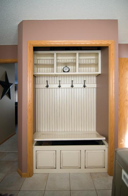 Locker Units Mud Room Storage Traditional Entry