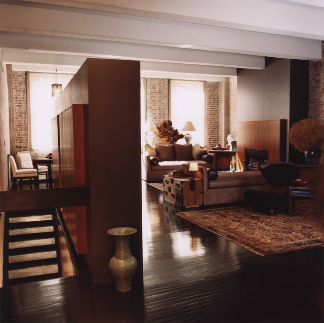Loft in new york city contemporary entry new york for Interior designers in new york city