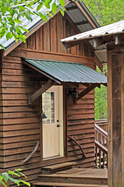 Do It Yourself Home Design: Log Cabin, Mud Room Entry Door