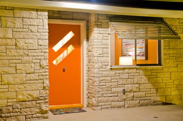 Los Altos Mid Century Modern Home Midcentury Entry