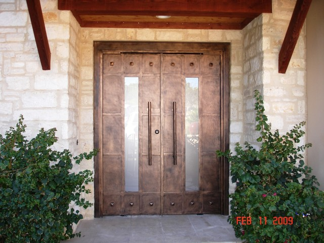 Luce with Rivets contemporary-entry & Luce with Rivets - Contemporary - Entry - Austin - by Cantera Doors pezcame.com
