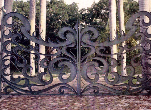 Luxury art deco entry gates eclectic other