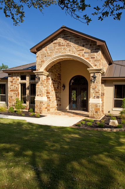 Luxury Ranch By Jim Boles Custom Homes Traditional Entry Other