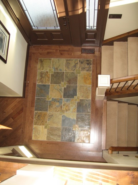 M Pulham Residence traditional-entry