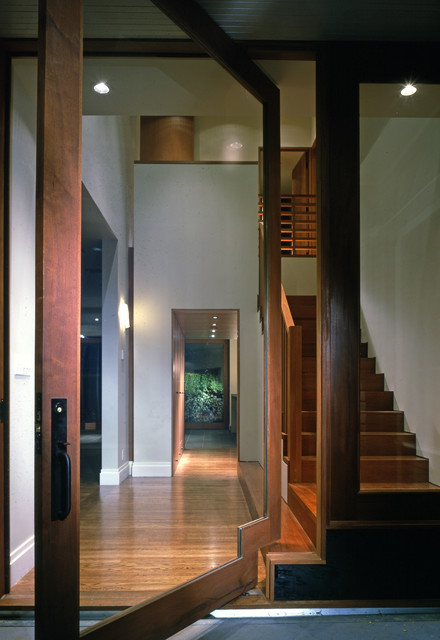 Madison Park Residence - Modern - Entry - seattle - by David Coleman / Architecture