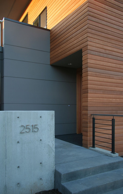 Magnolia House - Modern - Entry - Seattle - by ALCOVA architecture