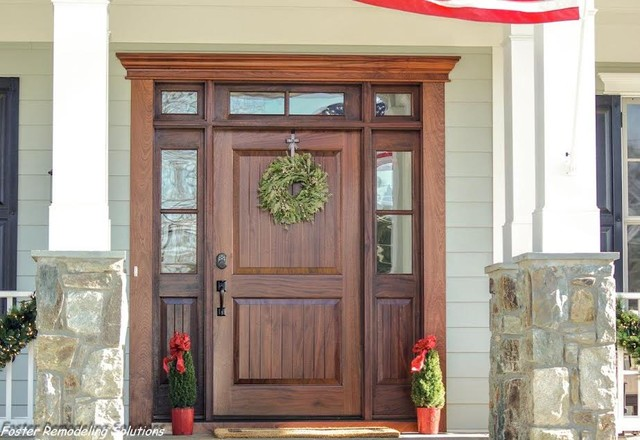 Mahogany Entry Doors by Clingerman Doors - Custom Wood Garage ...