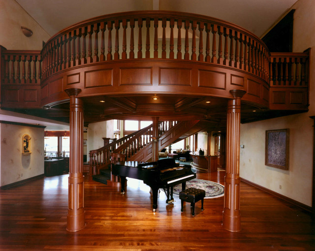 Mahogany Grand Windsor traditional-entry