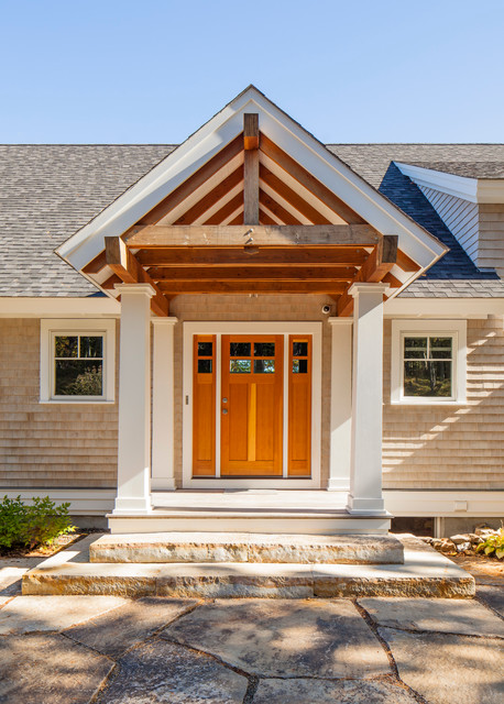 maine contemporary beach style entry other metro