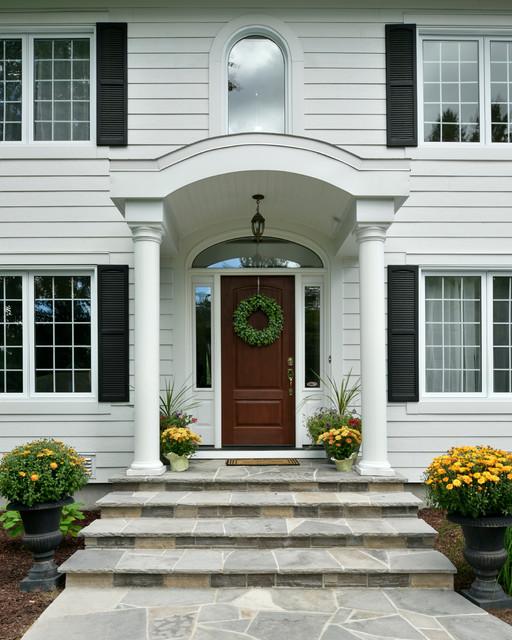 Houzz Home Design Exterior Entrance: Manotick Custom Home