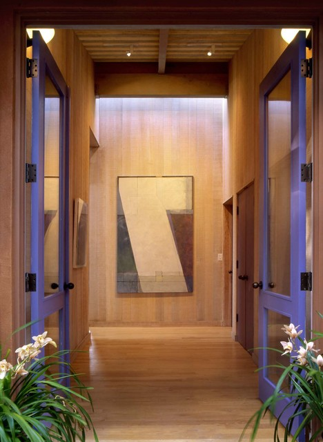 Marin County House contemporary-entry