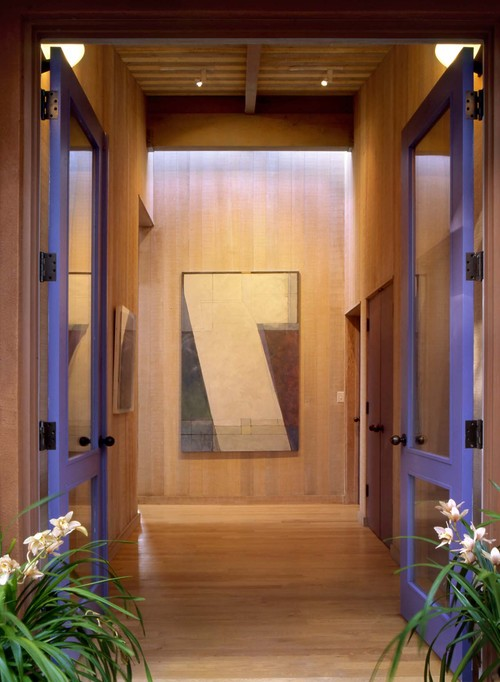 Marin County House contemporary entry