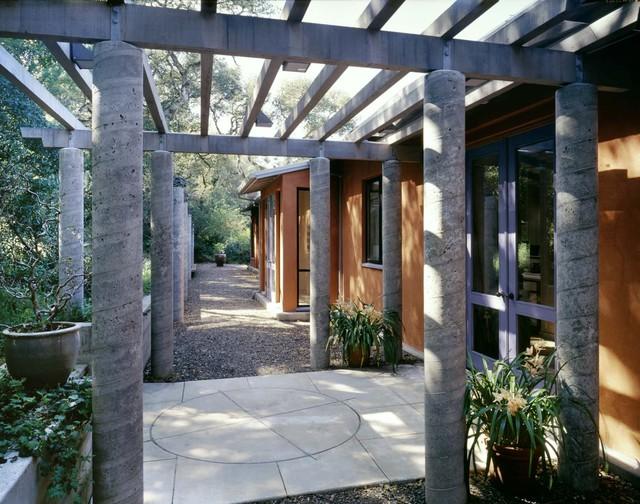 Marin County House contemporary-entry
