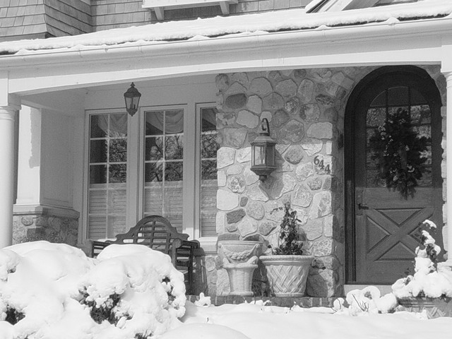 Mark Hickman Homes traditional-entry