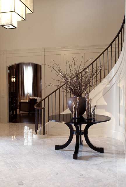 Marshall Morgan Erb Design Inc. contemporary staircase