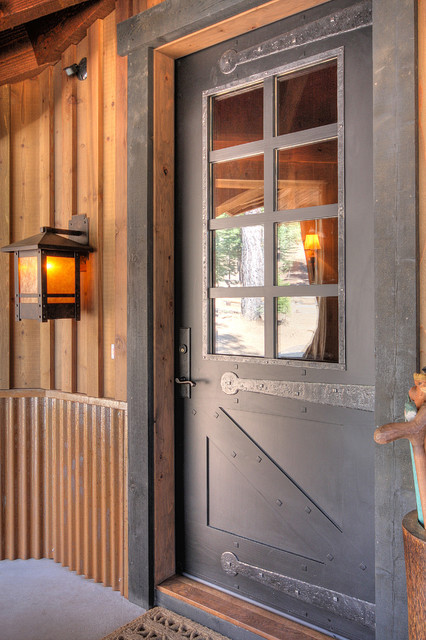 Martis Camp Rustic Entry Phoenix By Studio V