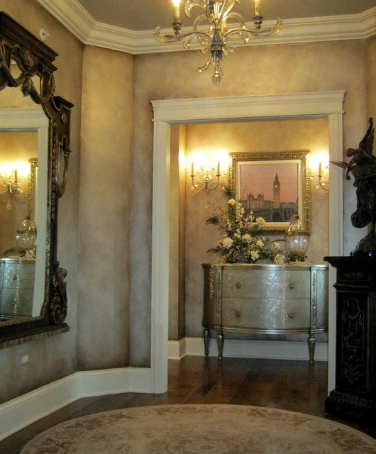 Master Bedroom Foyer Traditional Entrance Chicago By
