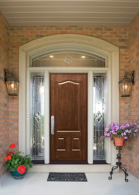 Maximizing Curb Appeal W New Entry Doors Traditional