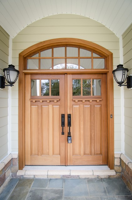McLean Custom Home traditional-entry
