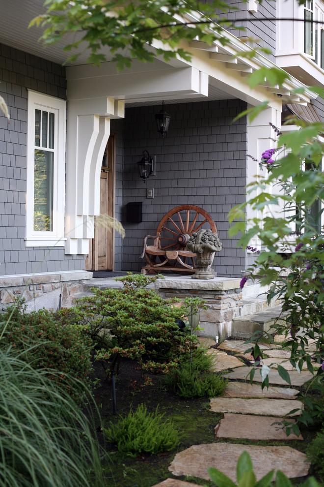 Elegant front door photo in Vancouver