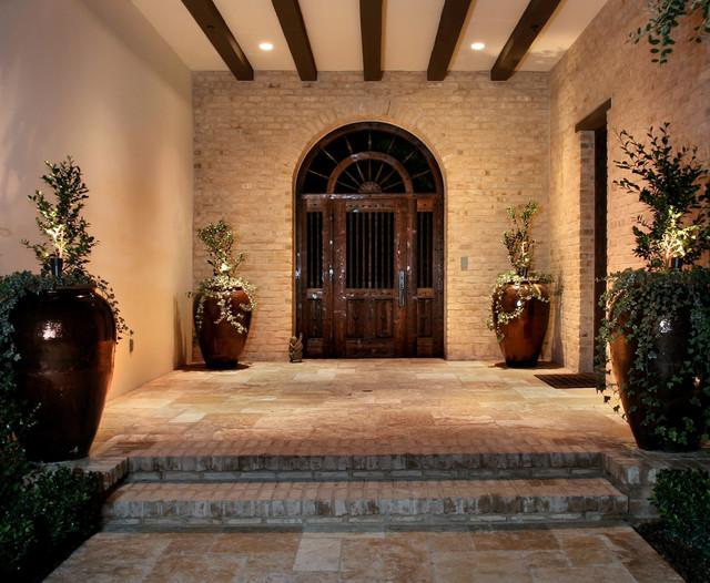 AMS Landscape Design Studios mediterranean-entry