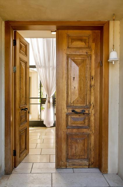 Mediterranean Entry rustic-entry
