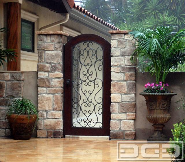 Mediterranean Style Front Doors: Mediterranean Style Pool Gate