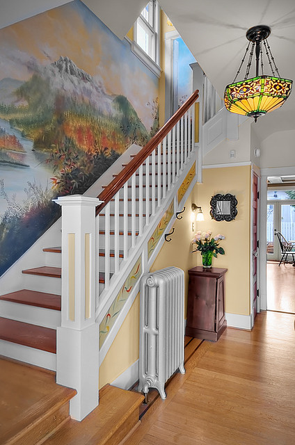 Meek Residence traditional-entry