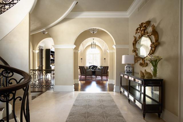 Merilane Avenue Residence 2 Foyer Traditional Entry
