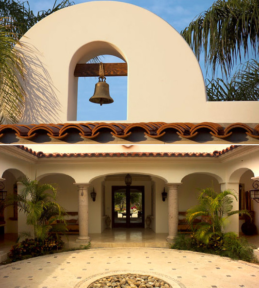 Mexican Hacienda at Cabo mediterranean-entry