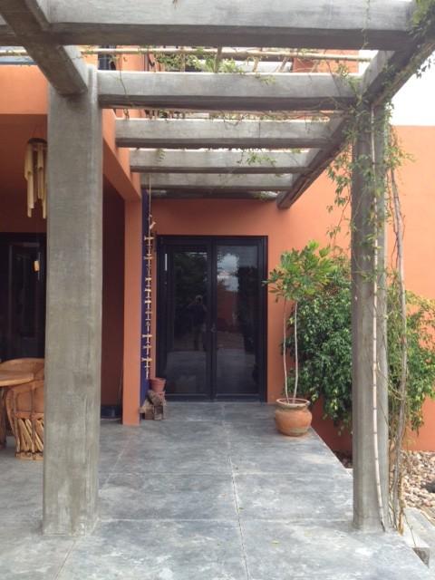 Mexico House mediterranean-entry