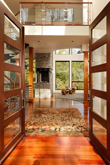 Michelle Miller Interiors modern-entry