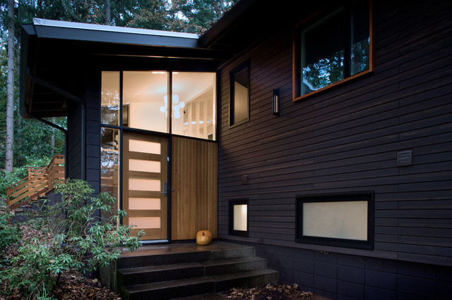 Mid Century Remodel Midcentury Entry Portland By 2form